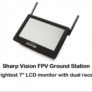 2019 Hawkeye Sharp Vision FPV Monitor 48 CH 5.8G Dual receivers built in DVR