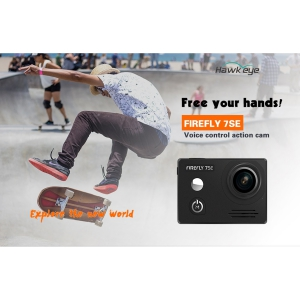 Hawkeye Firefly 7SE Voice Control Action Camera